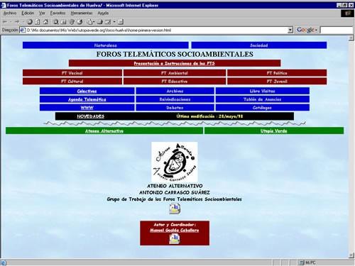 Foros Huelva (sitio web inicial)