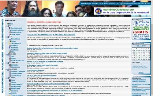 Onubenses.org (Postnuke 2004-2009)
